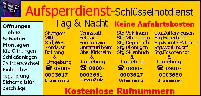 telefonbuch stuttgart feuerbach